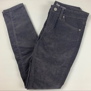 Gap Gray Corduroy Legging Skinny Jeans Pants